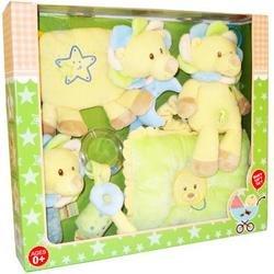 HUGFUN International Plush Baby Lion Toy Gift Set