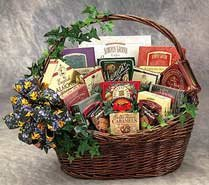 Sweets-N-Treats Gourmet Gift Basket - Small