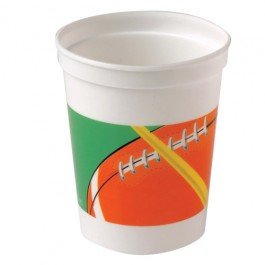 12 Football Cups Sports Party Supplies And Tableware