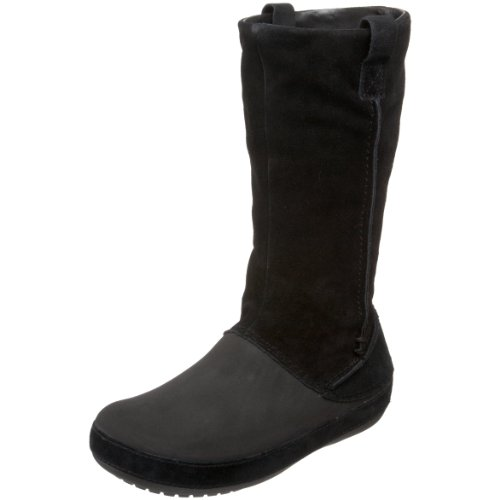 super popular 6921e b8b2d Crocs Stiefel: crocs 11089 Berryessa, Damen Stiefel, Schwarz ...