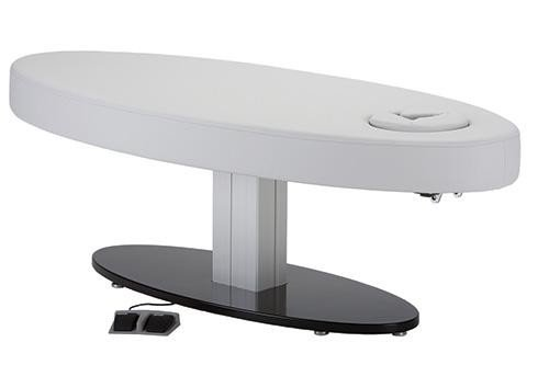 Living Earth Crafts - Oval Pedestal Flat Top Electric Lift Table
