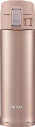 Zojirushi SM-KB48PX Stainless Steel Travel Mug, 16-Ounce/0.48-Liter, Pink Champagne (Zojirushi Stainless Steel Vacuum compare prices)