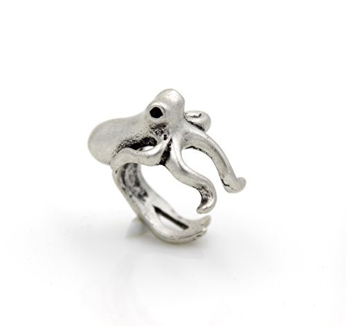 Steampunk-SQUID-RING-Octopus-Tentacle-Nauctical-Ocean-Sea-Creature-AS