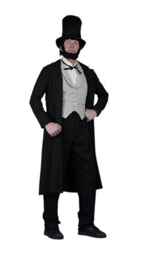Abraham Lincoln Adult Halloween Costume Size 42 Medium