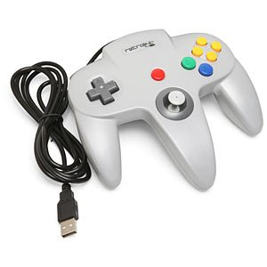 NINTENDO 64 CLASSIC USB ENABLED CONTROLLER(WIRED),BY