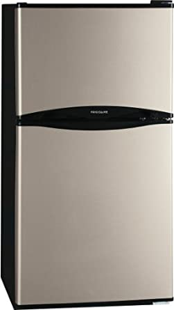 Frigidaire FFPH45F4LM 4.5 Cu. Ft. Black Counter Depth  Top Freezer Refrigerator - Energy Star