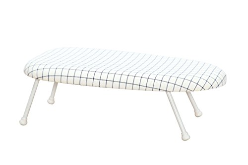StorageManiac Tabletop Ironing Board with Folding Legs, Folding Ironing Board with Cotton Cover (Iron Folding Board compare prices)