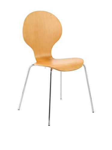 Euro Style Bunny Stack Chair, Natural