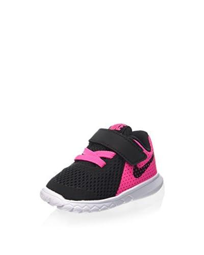 Nike Zapatillas Flex Experience 5 (TDV) Negro / Fucsia