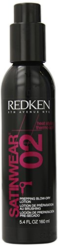 Redken Satinwear 02 Blow-Dry Lotion, 5.4 Ounce (Black Light Hairspray)