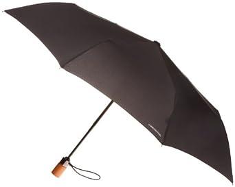 London Fog Auto Open Close Umbrella, Black, One Size