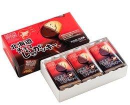 わかさいも本舗 チョコじゃがっキー 12枚 北海道じゃがいもクッキー