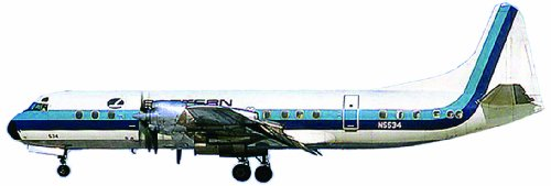 Minicraft Eastern Air Electra 1/144 Scale