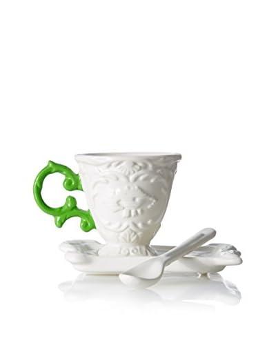 Seletti I-Ware Espresso Set, Green