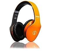 Special Edition New Released RHYTHMZ AIR HD Over Ear Headphones--Orange
