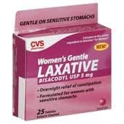 cvs laxative women 39 s gentle 25 enteric coated tablets everything else. Black Bedroom Furniture Sets. Home Design Ideas