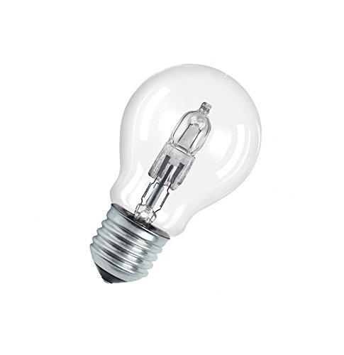 OSRAM-Halogen-Lampe-E27-dimmbar-Classic-A-77W-100-Watt-Ersatz-Halogen-Birne-als-Kolbenlampe-klar-warmwei-2800K-5er-Pack