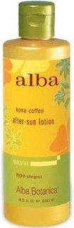 Alba Botanica Hawaiian Kona Coffee After-Sun Lotion - 8.5 fl