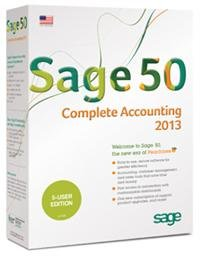 Sage 50 Complete Accounting 2013 US Edition 5-Users