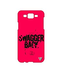 Vogueshell Swagger Back Printed Symmetry PRO Series Hard Back Case for Samsung Galaxy J7