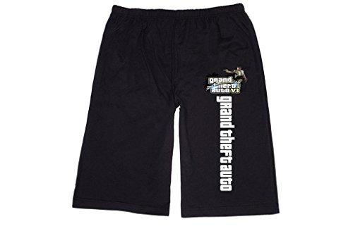 FuKong - Pantaloncini - Uomo nero XL