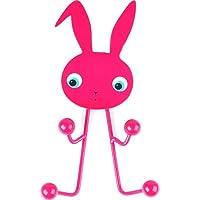 JIP Bunny Coat hanger Metal, Pink