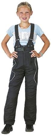 Roleff Racewear 454KM Pantalon Moto pour Enfants, Noir, M/140