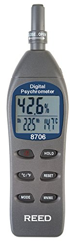 Reed Instruments 8706 Digital Psychrometer - 1