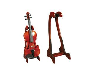 Amazon.com: Wood Collapsible Violin Stand: Musical Instruments