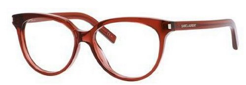 Yves Saint Laurent Yves Saint Laurent Sl 13 Eyeglasses-0LFY Burgundy-53mm