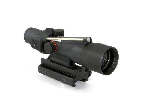 Trijicon Acog 3X30 Scope, Dual Illuminated Crosshair ( .223 Remington Ballistic Reticle), Amber