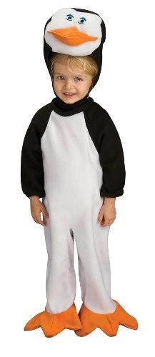 Nickelodeon The Penguins Of Madagascar Romper And Headpiece Skipper, Skipper Print, Newborn