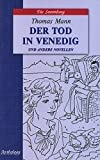 Death in Venice and other stories (kn.d / cht.na nem.yaz., neadapt.) / Smert v Venetsii i drugie novelly (kn.d/cht.na nem.yaz.,neadapt.)