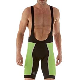 Giordana 2011 Men's FormaRed Carbon Trade Cycling Bib Shorts - Green- GI-BIFR-TRAD-GIGR