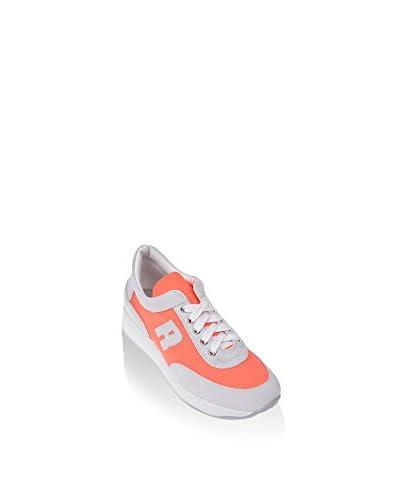 Ruco Line Sneaker 1304 Tessil Fluo S koralle