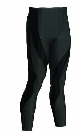 CW-X Men's Full Length Insulator Performx Tights (Black, Small)