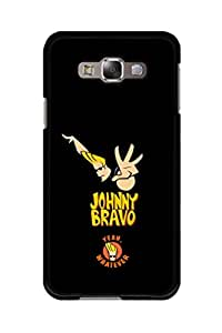 Caseque Johnny Bravo - Yeah Whatever Back Shell Case Cover for Samsung Galaxy E7