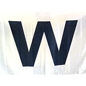 Chicago Cubs Win Wrigley Field 'W' Flag 3x5 Banner