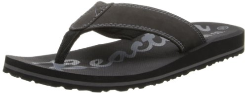 Kenneth Cole Reaction Men'S Form-Ulation Flip Flop,Black,9 M Us front-1040270