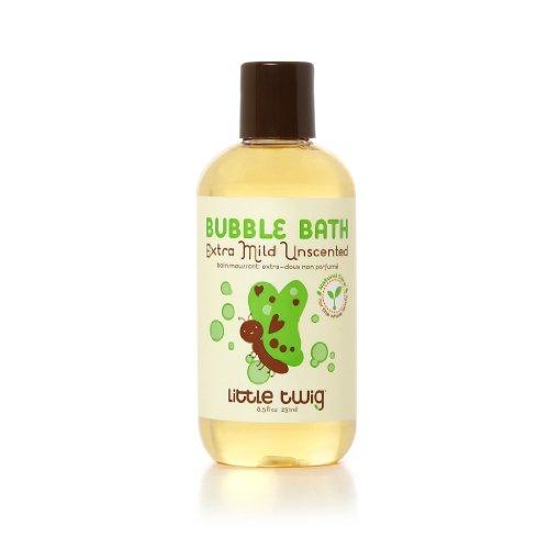 Little Twig Bubble Bath Unscented, Unscented, 8.5 Fluid Ounce 8.5 Ounce Bath