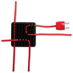KABEL-ORGANISER CABLOX 10 x 10 CM SW 2ST