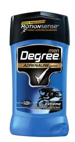 Degree for Men Adrenaline Series Extreme, 2.7 Ounces