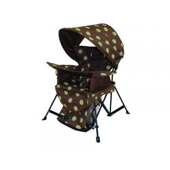 Kelsyus Go With Me Chair, Brown/Green front-250843