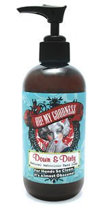 Oh! My Goodness Down and Dirty Natural Waterless Hand Cleanser 8oz.