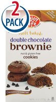 Enjoy Life Soft Baked Cookies Gluten Free Double Chocolate Brownie -- 6 oz Each / Pack of 2 by Enjoy Life