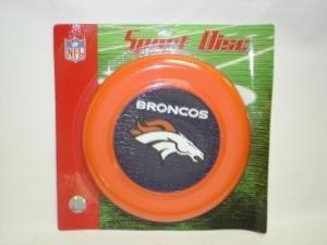 NEW Denver Broncos Sport Disc NFL Frisbee Dog Toy