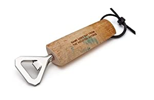 Tokens & Icons MLB Game Played Baseball Bat Bottle Opener - Houston Astros (64AS) by Tokens & Icons