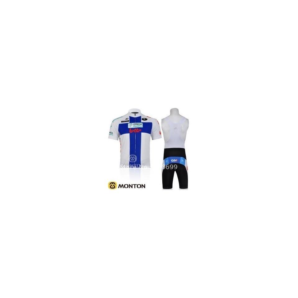 2011 lotto team cycling jersey+bib shorts size s xxxl on PopScreen 651aac12d