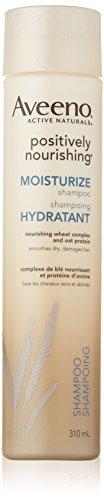 Aveeno Positively Nourishing Moisturize Shampoo for Dry Hair, 310ml