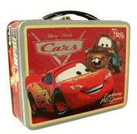 Disney Cars Light Mcqueen Tin Box - Lunch Box